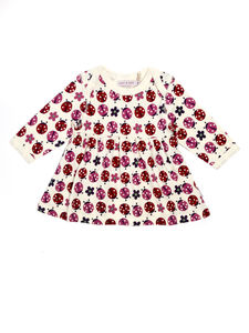 Lucy And Sam Ladybird Print Dress - dresses
