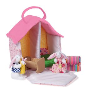 Bunny Dolls' House - pretend play & dressing up