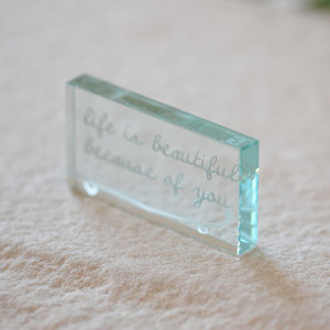 'Life Is Beautiful Because Of You' Token