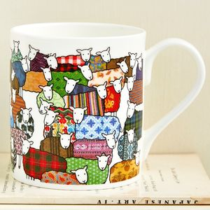 Colourful Sheep Mug - easter home
