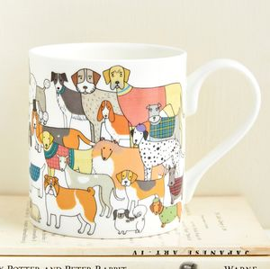 Pack Of Proud Pooches Mug - mugs