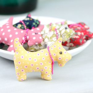 Scottie Dog Brooch - pins & brooches
