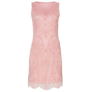 Flapper Style Embellished Beaded Dress - best dressed guest