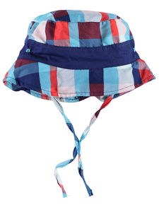 Boy's Toddler Blue Zauri Summer Hat - hats, scarves & gloves