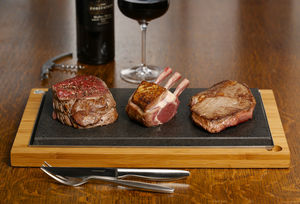 Steak Stones Sharing Plate - gifts for couples