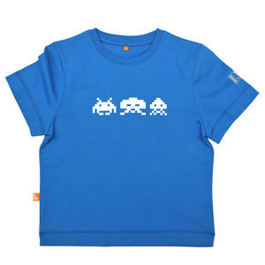 Child's Arcade Invaders T Shirt - black friday sale