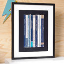 David Bowie Heroes Album As Books Print