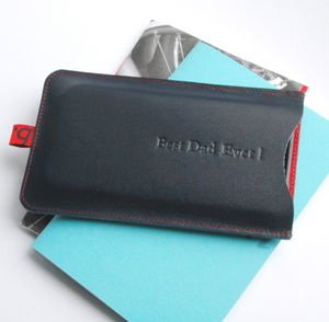 Leather Sleeve For iPhone - gifts for travel-lovers