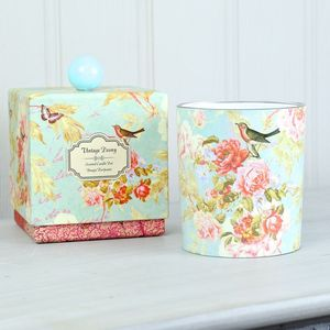 Vintage Peony Scented Candle - dining room