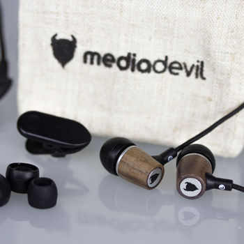 Artisanphonics EB 01 Wood Earphones
