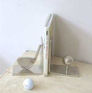 Golf Bookends - decorative accessories