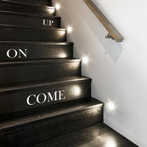 'Come On Up' Stair Stickers - decorative accessories