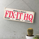 Personalised Vintage Style Shed Sign
