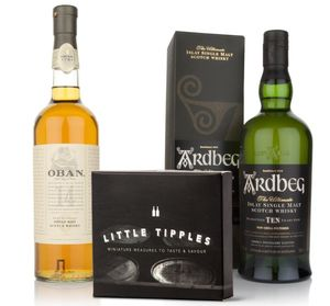 Scotch Whisky Tasting Set Highlands And Islay - food & drink gifts