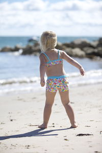 Girls' Floral Shorts Uv Bikini - clothing