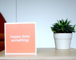 'Happy Thirty Something' Card - birthday cards