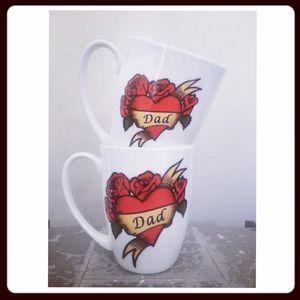 Dad Tattoo Design Mug