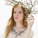 Sycamore Seed Collar Temporary Tattoo Kit