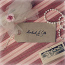 'Handmade By' Signature Style Personalised Stamp