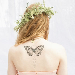 Butterfly Temporary Tattoo Kit - make-up