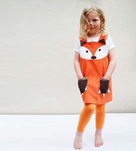 Fox Costume Girls Dress - toys & games