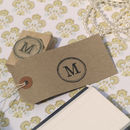 Initial Personalised Rubber Stamp