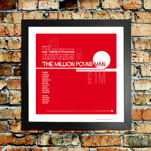 Nottingham Forest 'Francis' Football Print - posters & prints