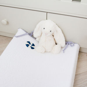 Nautical Changing Mat Cover