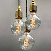 Set Of Three Bulb Pendant Lights - shop by room