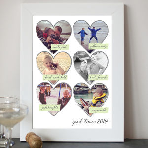 Personalised Photo And Caption Print - posters & prints