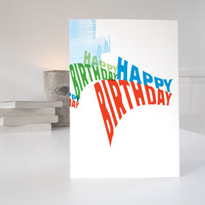 Birthday Card - view all sale items