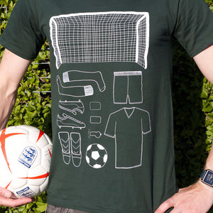 Unisex Football T Shirt - tops