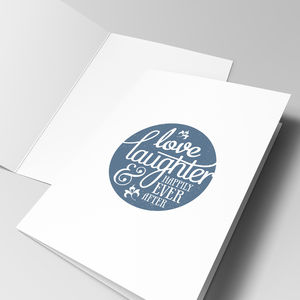 'Happily Ever After' Greeting Card - congratulations cards