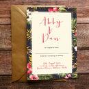 Tropicana Wedding Invitation And Stationery