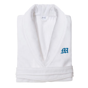 Monogrammed Personalised Velour Bath Robe - nightwear