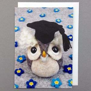 Graduation Owl Greeting Card