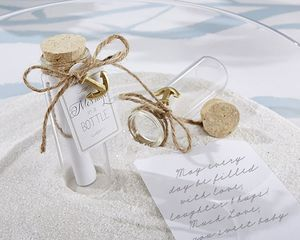 'Message in a Bottle' - wedding favours