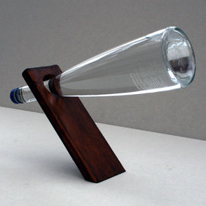 Balanced Bottle Stand - drink & barware