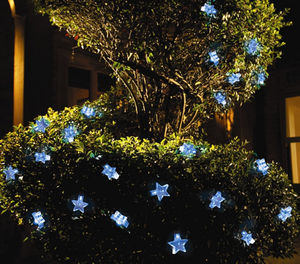 White LED Star String Solar Lights - lights & lanterns