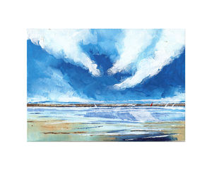 Seascape Three - canvas prints & art