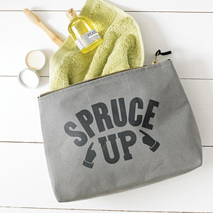 'Spruce Up' Wash Bag