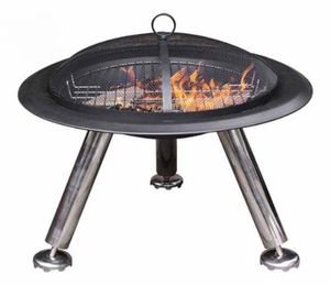Estrella Large Steel Fire Bowl - barbecues & accessories