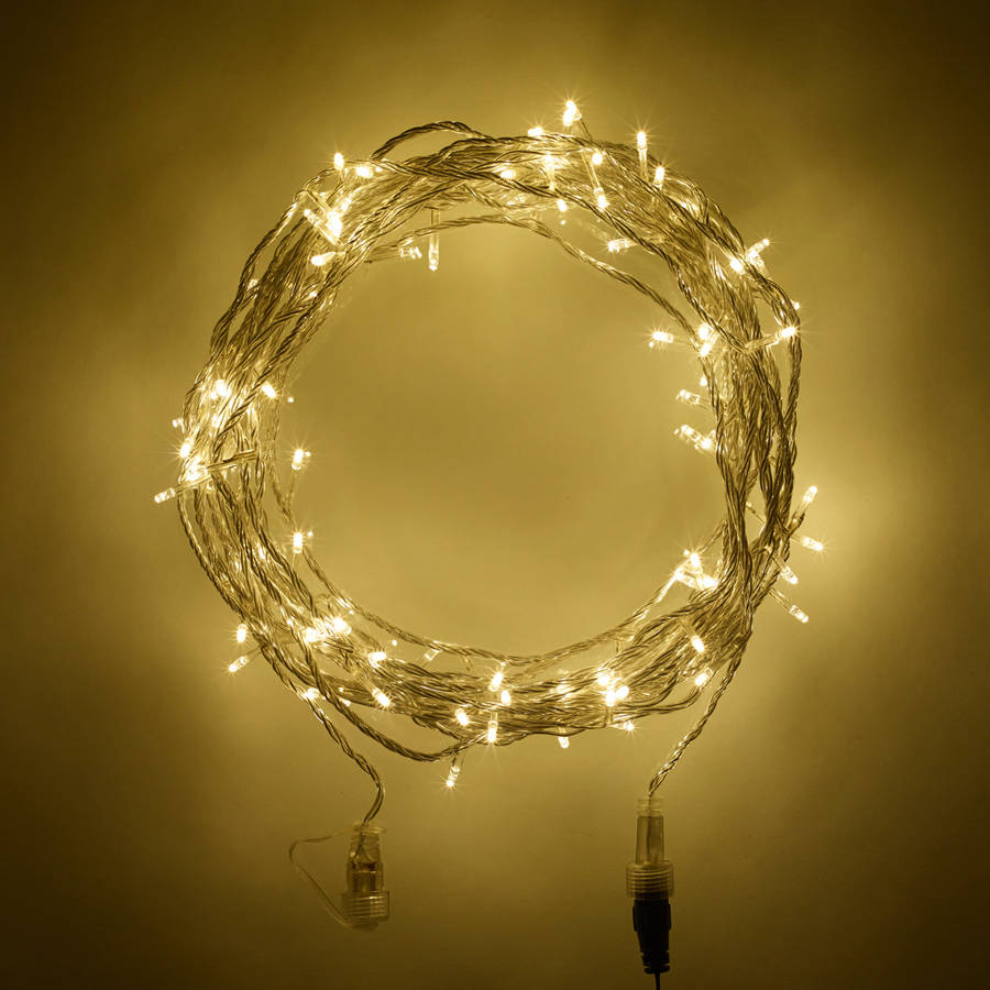 warm white outdoor battery lights by lights4fun notonthehighstreet