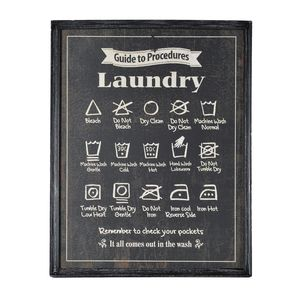 Laundry Room Wall Plaque - laundry room