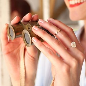 Delicate Band Ring - rings