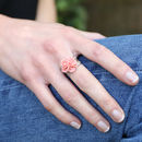 Orchid Flower Ring