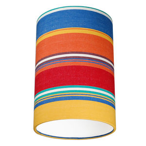 Slapton Deckchair Stripe Lampshade - lighting
