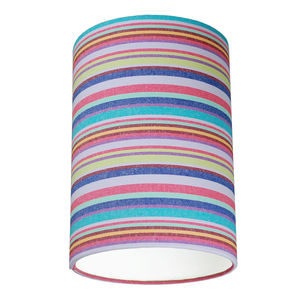 Oddicombe Multi Colour Deckchair Stripe Lampshade - dining room