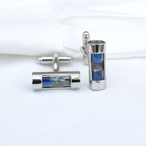Hourglass Cufflinks - men's jewellery