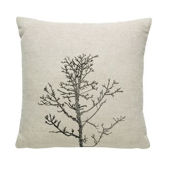 Arboretum / Winter Tree Cushion Cover / Natural